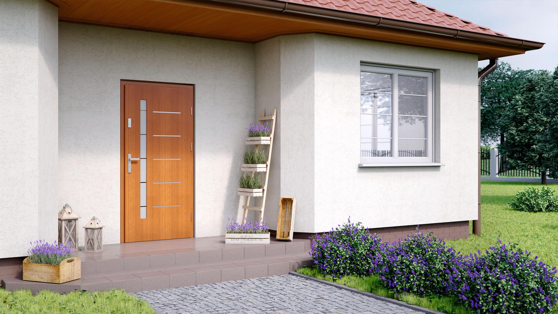 drzwi zewnętrzne w Wołominie